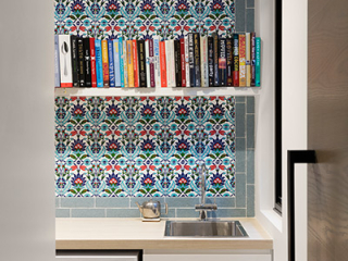 East Gallery House, Brighton, architect designed, butler's pantry, Turkish feature tiles,  Extension, Renovation