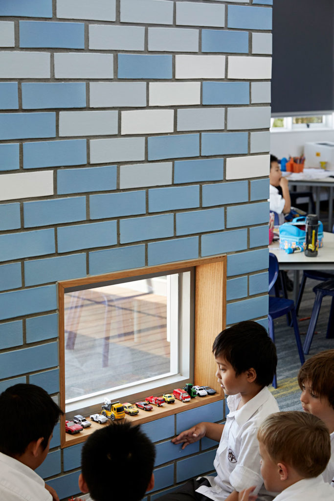 Catholic School Learning Environments Glazed Brick Colour Learning Nook