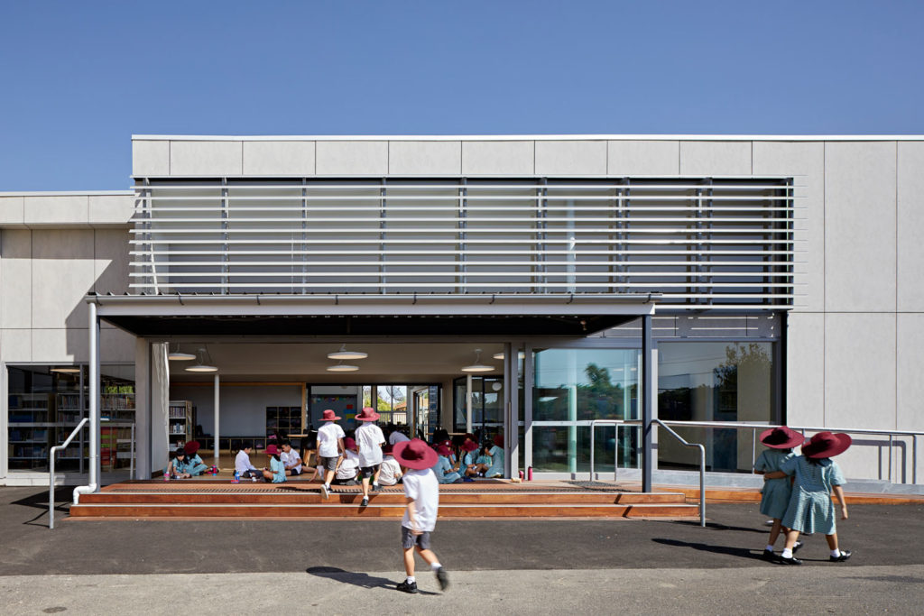 Catholic School Learning Environments Architecture Louvres Indoor Outdoor