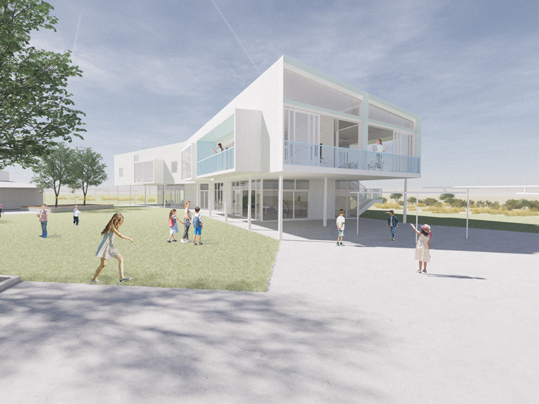 St Clare's Primary School, Truganina ROAM Architects