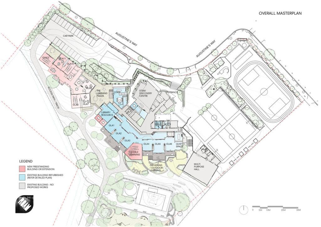 St Augustine's Primary Keilor Masterplan