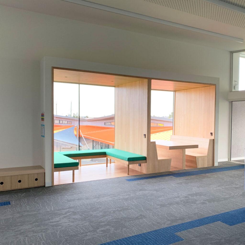 eductation catholic St Clare's learning environment school design ROAM Architects