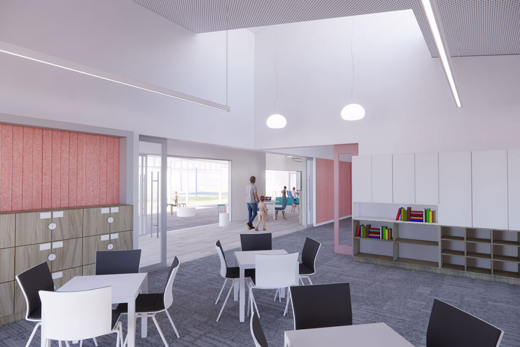 St Mary's College Seymour new classroom building catholic education