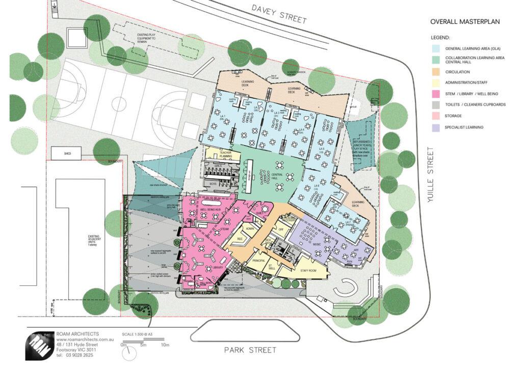 ROAM Architects  masterplan learning environments