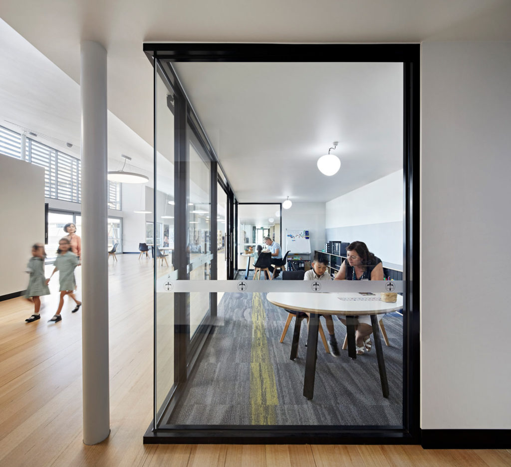 Catholic School Learning Environments Discovery Centre Timber Floor Transparency