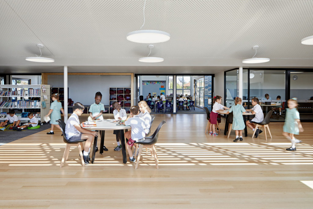 Catholic School Learning Environments Reading Timber Floor Natural Light