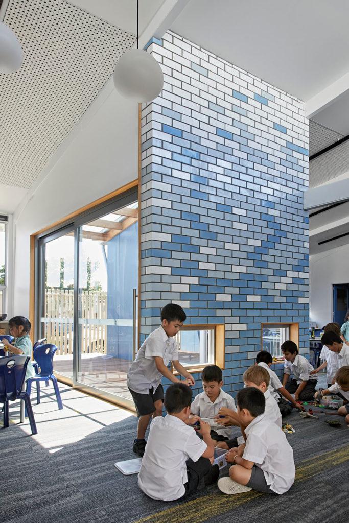 Catholic School Learning Environments Classrooms Colour Glazed Bricks
