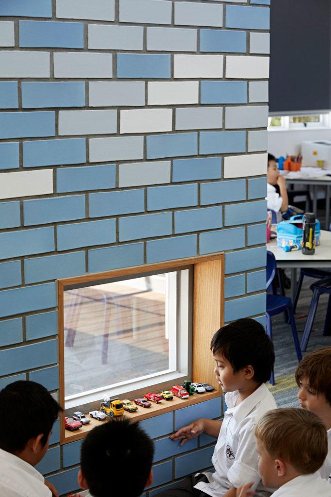 Catholic School Learning Environments Glazed Brick Colour Learning Nook