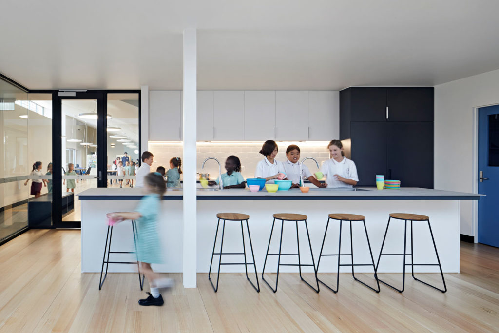 Catholic School Learning Environments Community Kitchen Cooking